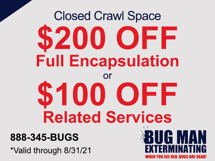 Up to $200 OFF Crawl Space Services